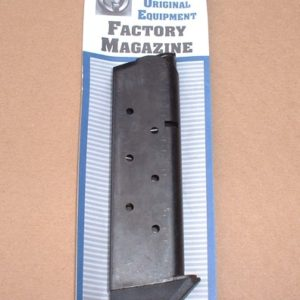 Metalform 7rd .45acp blue with base bumper