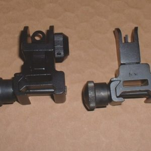 AR15 folding fr rr sights